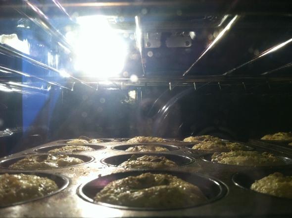 Lemon Pistachio Cornmeal Muffins #5
