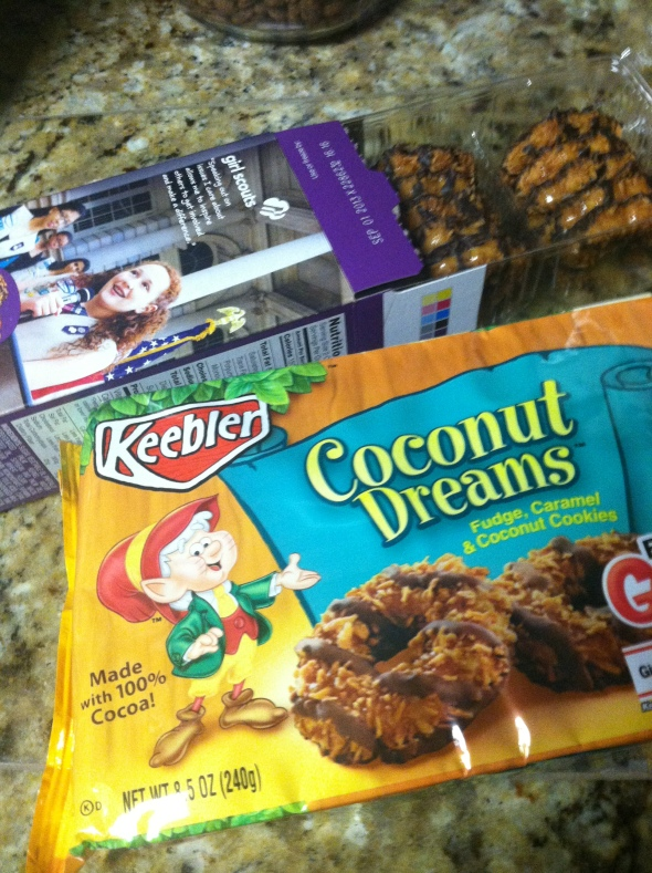 Samoas and Coconut Dreams
