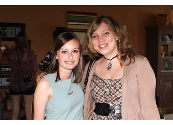 With my brilliant friend Maya.