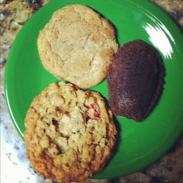 Featured with Malted Madeleines (Baked Elements) and Monster Cookies (Baked).