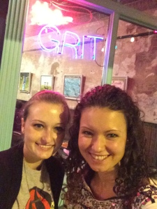 Me and Dessa at The Grit