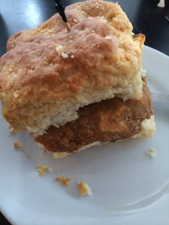 Fried Chicken Biscuit