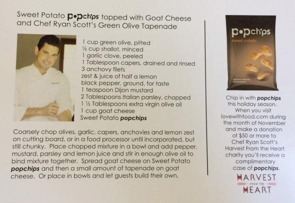 Sweet Potato popchips Recipe