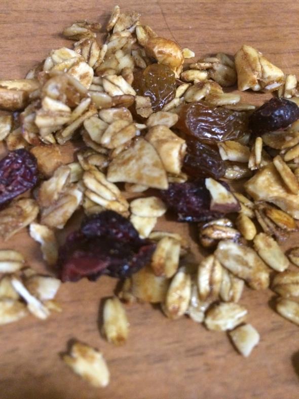 Cranberry Vanilla Granola