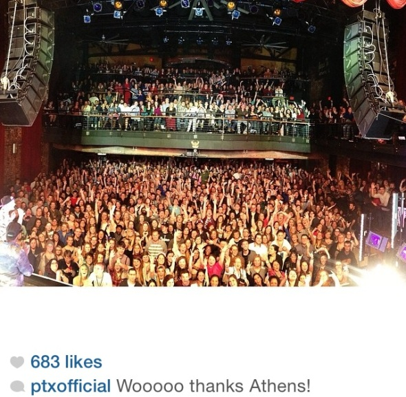 Pentatonix in Athens