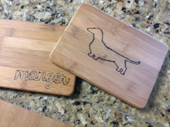 Wood BurningCutting Boards DIY