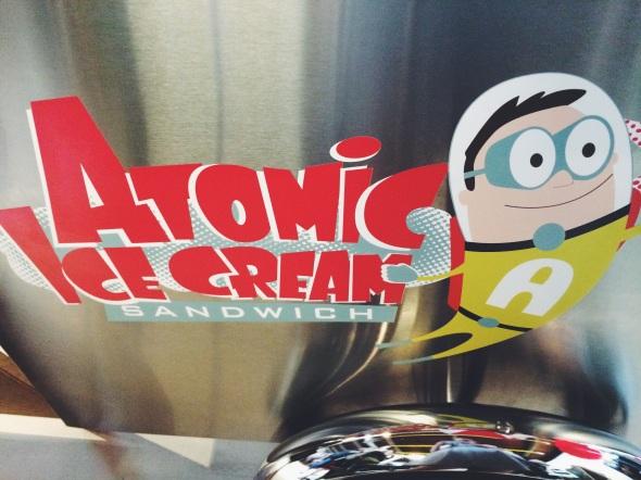 Atomic Ice Cream Sandwich